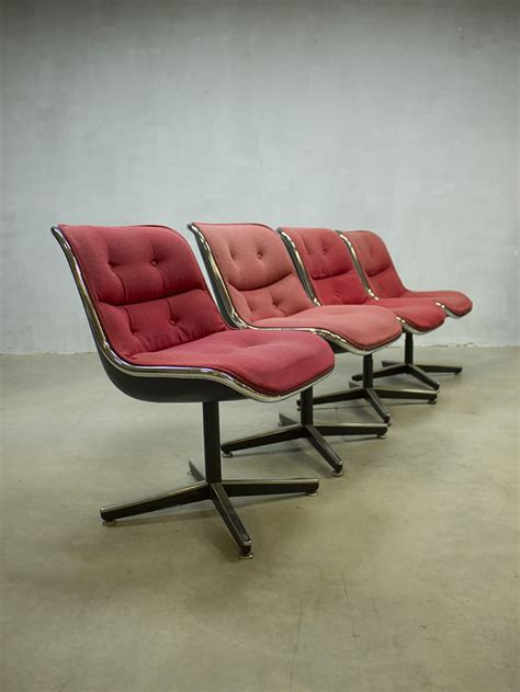 Knoll Pollock Chair Vintage by Midcentury Vintage Design Stoel Pollock Chair Office Chair