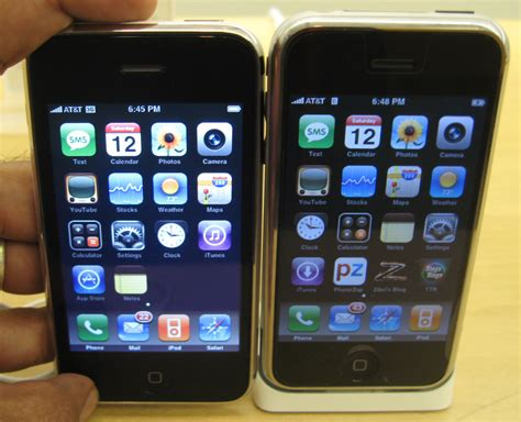 iphons iphone 3g vs iphone 2g fone arena
