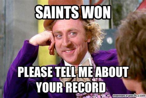 Saints Memes - saints won