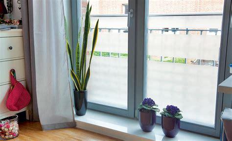 Glastueren Machen Haus Und Wohnung Heller by Sichtschutz F 252 Rs Fenster Selbst De
