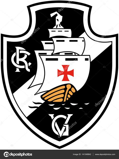 Vasco Gama by O Emblema Do Clube Desportivo Quot Club De Regatas Vasco Da
