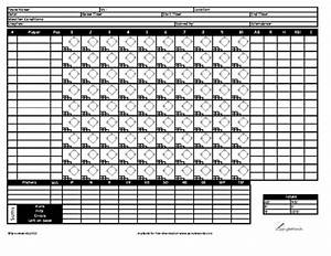 printable baseball score sheet template With baseball box score template