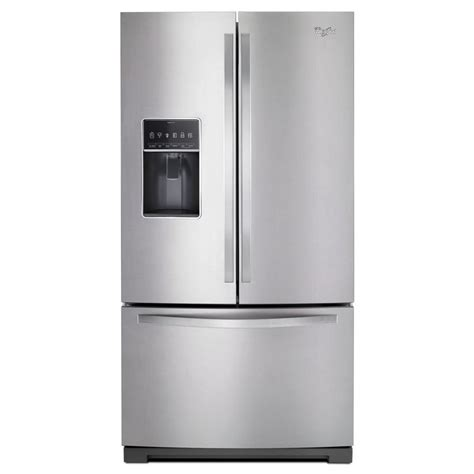 Shop Whirlpool 268cu Ft French Door Refrigerator With