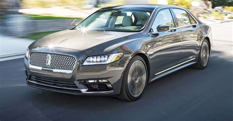 2017 Lincoln Continental 30t Awd First Test Quiet And