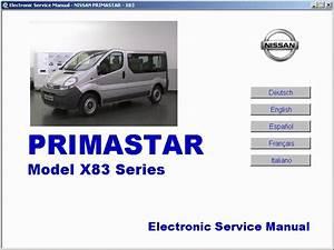 Nissan Primastar - Service Manual - Manual De Taller - Manuel De Reparation