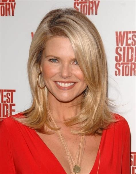 christie brinkley haircut 36 approved hairstyles for 40