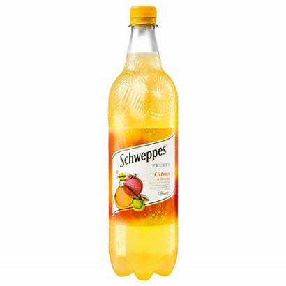 Citrus Orange Rewe Limonaden 1l Schweppes Fruity
