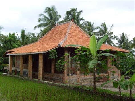 contoh rumah sederhana  kampung  pedesaan terbaru