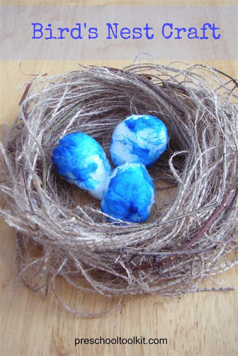 birds nest craft  kids allfreekidscraftscom