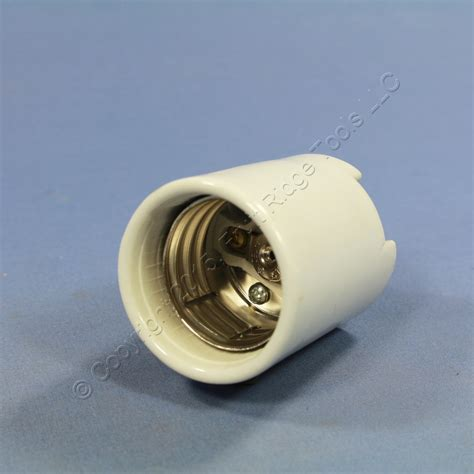 leviton mogul porcelain hid lholder light socket connect tabs 8756 qc ebay