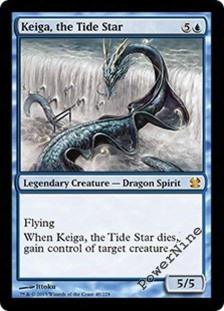 Mtg Elemental Deck by 1 Keiga The Tide Star Blue Modern Masters 2013 Mtg
