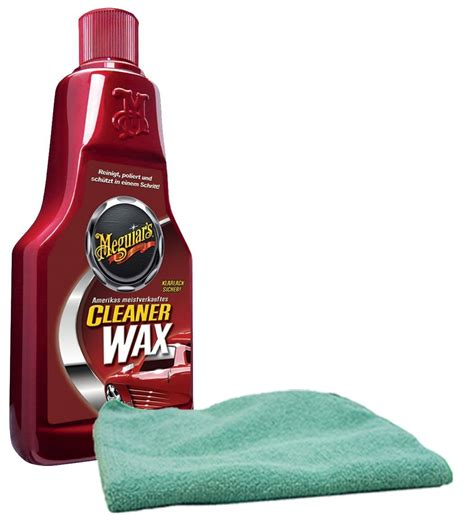 How To Remove Wax From Microfiber by Meguiar S Liquid Cleaner Wax 16 Oz Microfiber Cloth