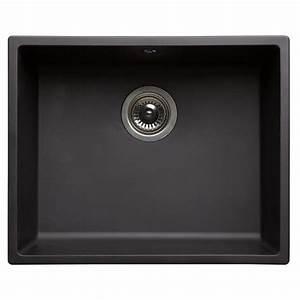 évier En Résine Noir : evier noir 1 bac achat vente evier noir 1 bac pas cher ~ Premium-room.com Idées de Décoration