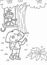 Swing Coloring Pages Supercoloring sketch template