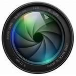 Camera Lens Logos Tech Zoom Studio Kid