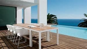 Mobilier D Extérieur : mobilier d 39 ext rieur minimaliste scandinave tribu ~ Teatrodelosmanantiales.com Idées de Décoration