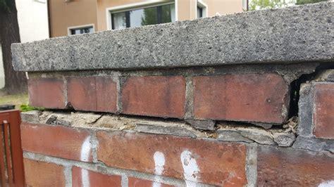 Sanierung Einer Hauseinfriedung