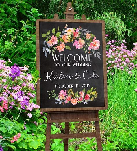 top 10 best wedding welcome signs heavy