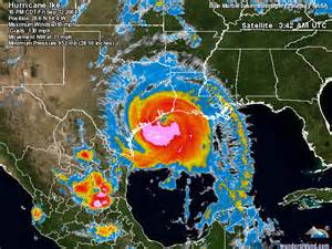 Hurricane Ike Galveston Map