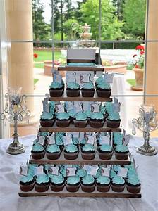 Tiffany Blue Wedding Cupcakes | Wedding, Wedding ideas and ...