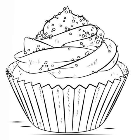 jeux de cuisines gratuits coloriage cupcake coloriages à imprimer gratuits