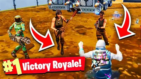 trolling mobile player fortnite battle royale solo