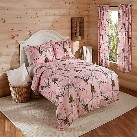realtree 174 ap comforter set in pink bed bath beyond