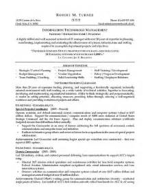 resume for it infrastructure engineer infrastructure manager resume exle