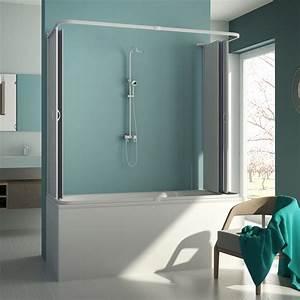 Duschkabine 3 Seitig : duschkabine badewannen aufsatz 3 seitig pvc 70x140x70 cm schiebet r h150 8022317491502 ebay ~ Sanjose-hotels-ca.com Haus und Dekorationen