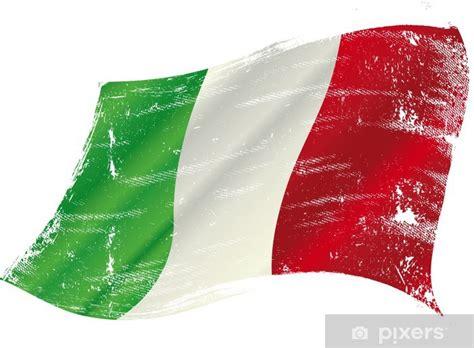 carta da parati grunge bandiera italiana pixers
