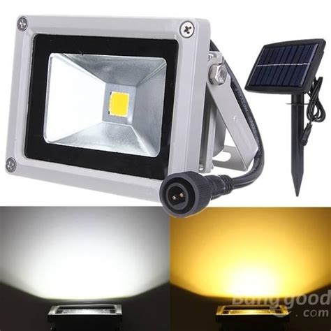 10w solar power led flood light