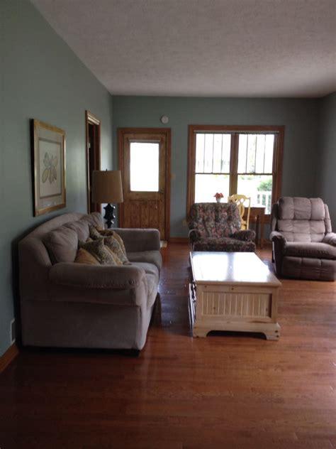 sherwin williams silvermist  oak trim home decor