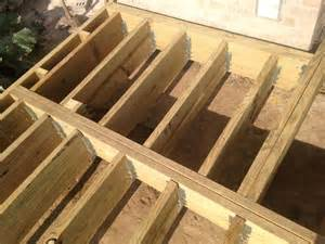 outdoor living how to build a low to the ground deck part 2