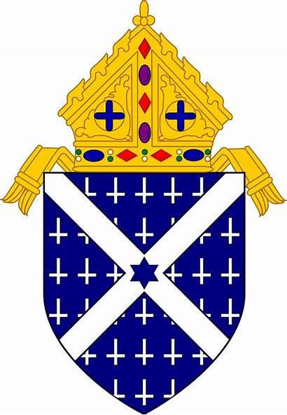 Diocese Arms Coat Rock Catholic Svg Roman