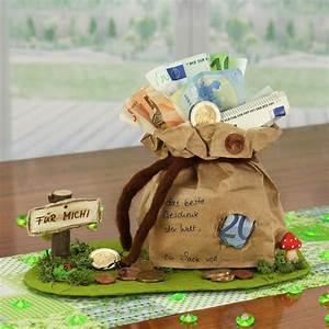 Geldgeschenke Geburtstag Selber Basteln Idee Von