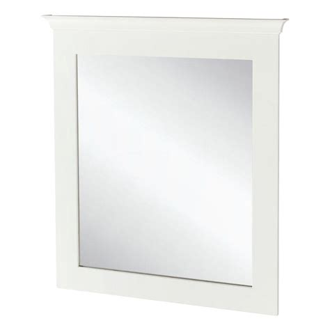 Home Depot Bathroom Vanity Mirrors by Home Decorators Collection Creeley 30 In X 34 In Framed
