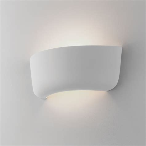 astro lighting 7931 gosford 340 ceramic wall light in white