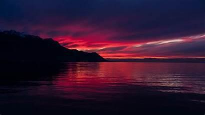 4k Sunset Dark Resolution Wallpapers Nature 1440p
