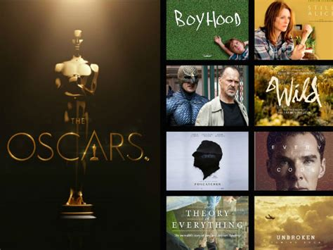 Academy Awards Best Picture Oscars 2015 Best Picture Best Picture Oscar Nominations