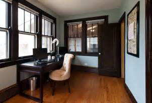 Wall Color with Dark Wood Trim