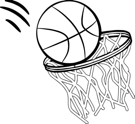 basketball  coloring page wecoloringpagecom
