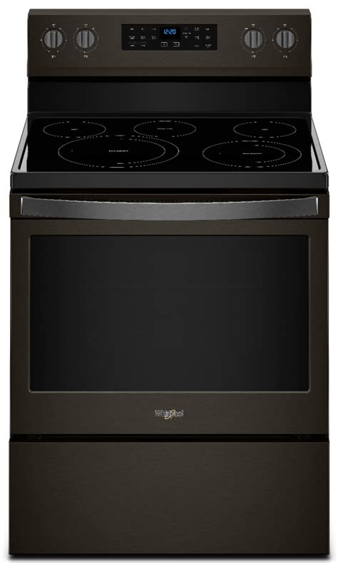 whirlpool stainless electric range steel cleaning self convection ft cu freestanding ranges stoves ovens special front