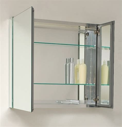 Bathroom Medicine Cabinet Mirrors by 30 Quot Wide Mirrored Bathroom Medicine Cabinet