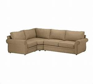 pearce upholstered right 3 piece corner wedge sectional With 3 piece sectional sofa with wedge