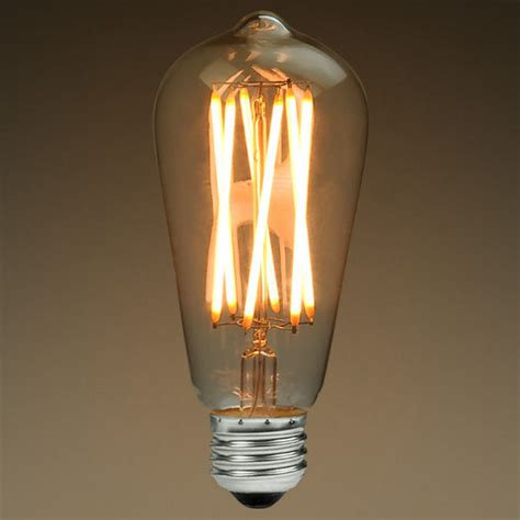 led edison bulb 6 watt 40w equal 2200k plt