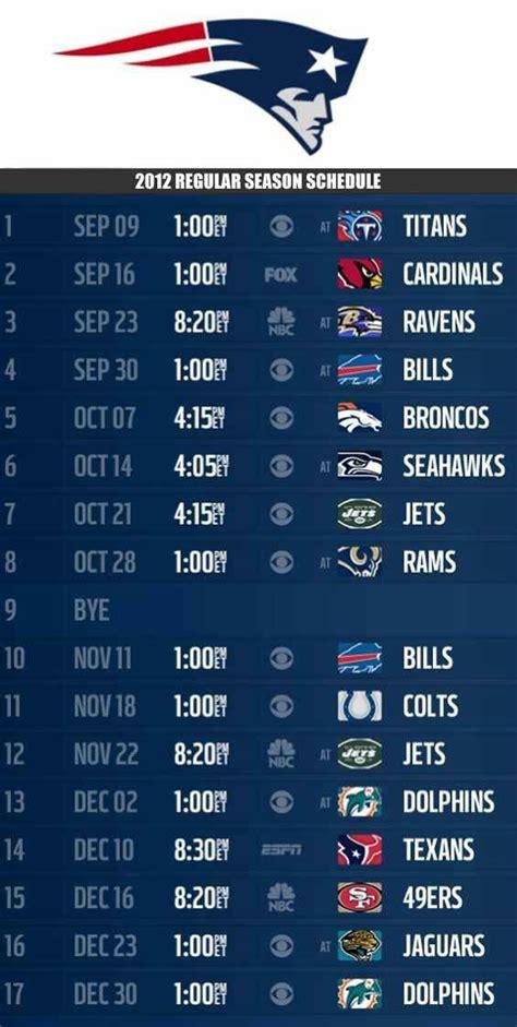 ideas  nfl football schedule  pinterest
