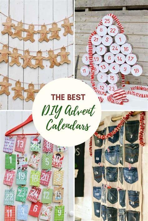 unique ways    diy christmas advent calendar