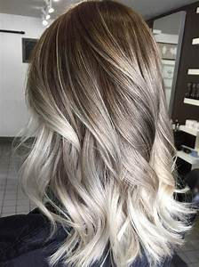 Balayage Blond Grau : 60 balayage hair color ideas with blonde brown caramel and red highlights page 58 foliver blog ~ Frokenaadalensverden.com Haus und Dekorationen