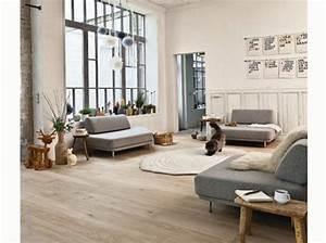 30 idees pour un salon zen elle decoration With tapis de course pas cher avec canapé cuir pleine fleur pas cher
