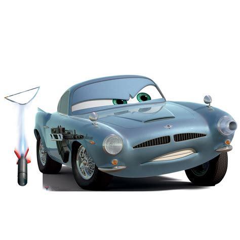 Disney Cars 1 2 Finn Mc Missile Standup Hd